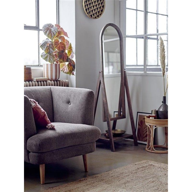 Bloomingville-collectie Lounge stoel Elliot bruin