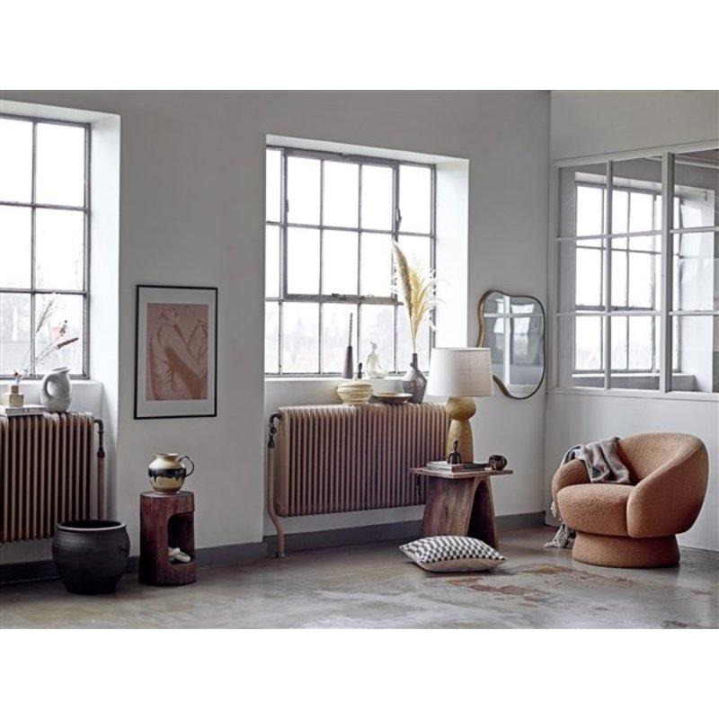Bloomingville-collectie Lavin Table lamp, Yellow, Stoneware