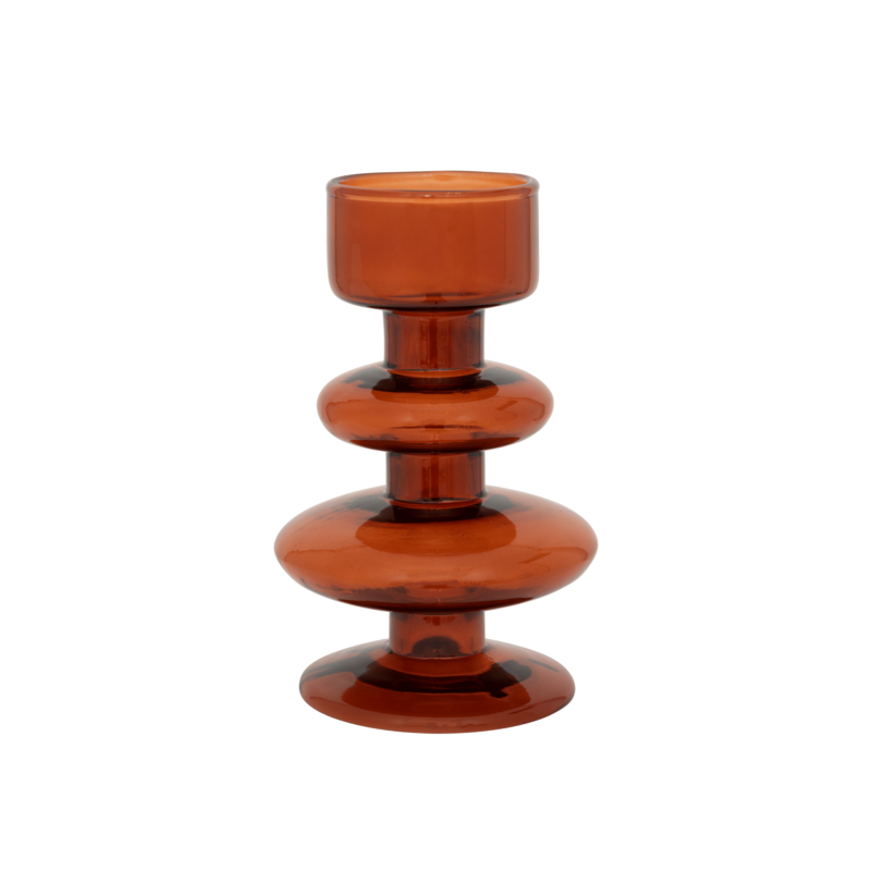 Urban Nature Culture-collectie Waxinehouder recycled glas Intuitive arabian spice
