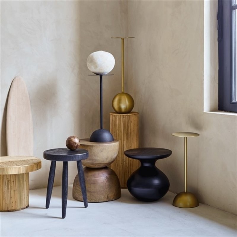 Urban Nature Culture-collectie Sidetable hout Hourglas