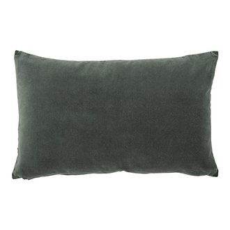 Urban Nature Culture cushion vintage velvet, lilypad