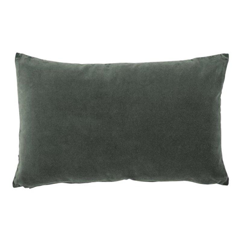 Urban Nature Culture-collectie cushion vintage velvet, lilypad