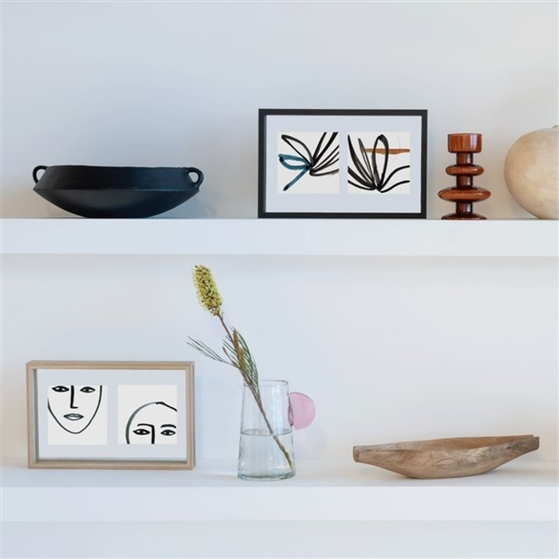 Urban Nature Culture-collectie photo frame Floating Minimalism Double, black
