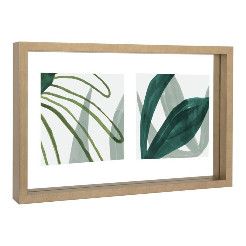 Urban Nature Culture-collectie photo frame Floating Double, gold