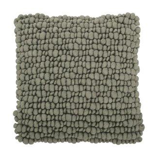 Urban Nature Culture cushion wool 3D, lilypad