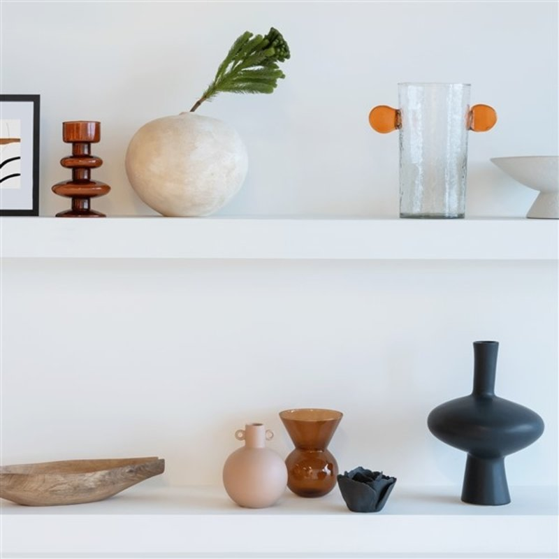Urban Nature Culture-collectie object vase with ears recycled glass