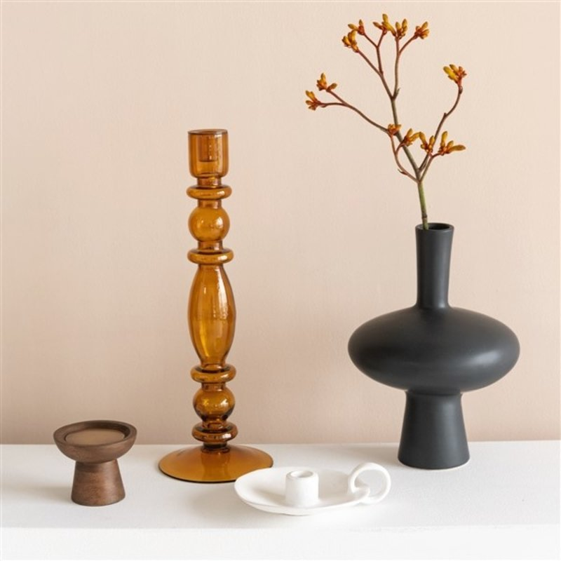 Urban Nature Culture-collectie flower vase recycled glass BY MIEKE CUPPEN S, arabian spice