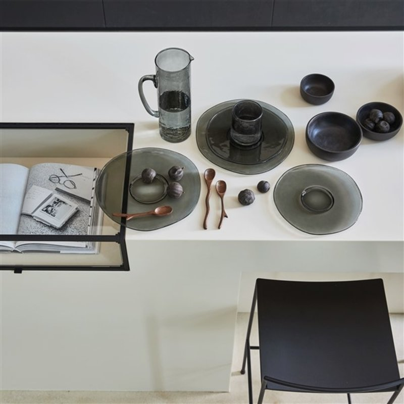 Urban Nature Culture-collectie Karaf recycled glas ebony