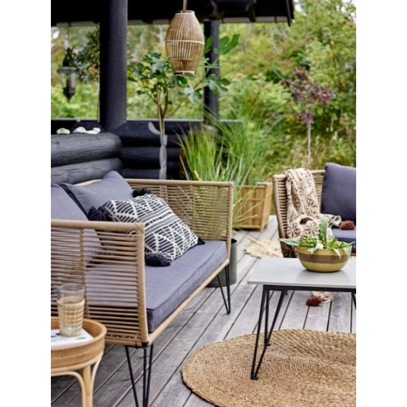 Bloomingville-collectie Mundo Coffee Table, Grey, Concrete
