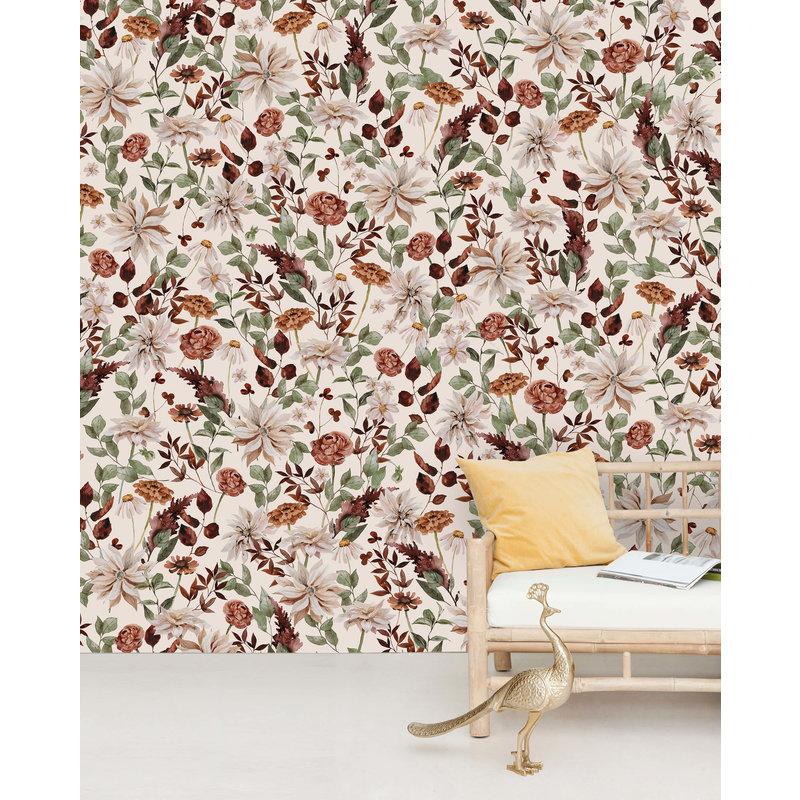 Creative Lab Amsterdam-collectie Vintage Bouquet Wallpaper Mural