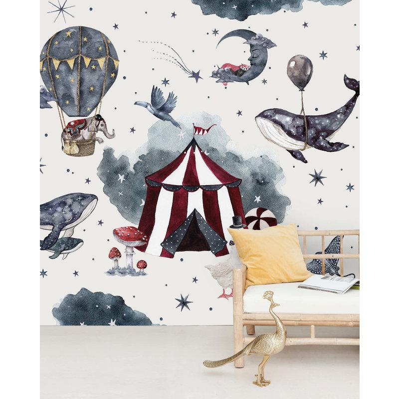 Creative Lab Amsterdam-collectie Milky Way Theatre Behang Mural