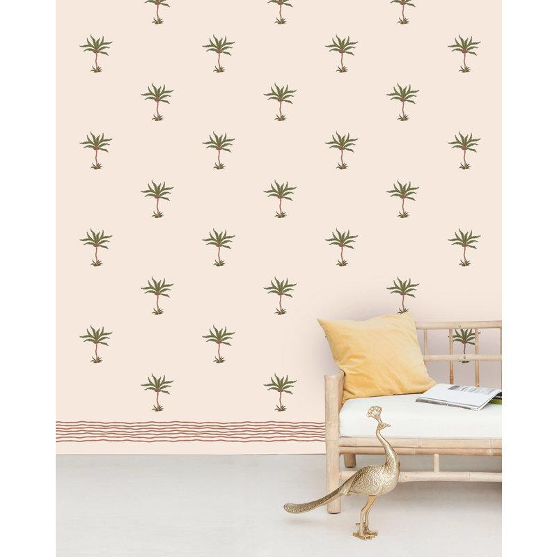 Creative Lab Amsterdam-collectie Subtle Palms Wallpaper Mural