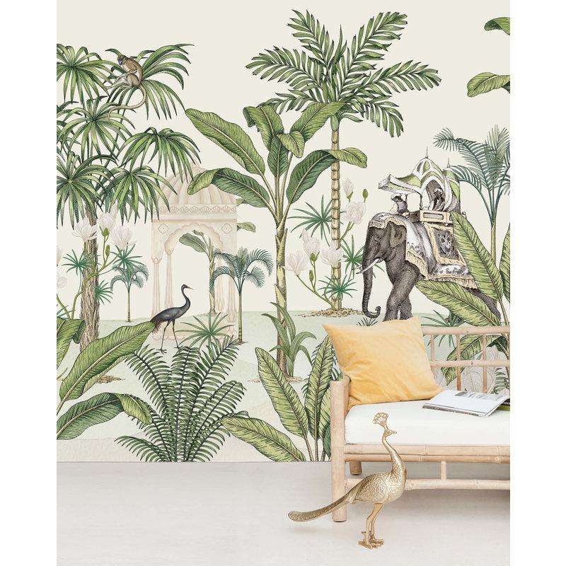 Creative Lab Amsterdam-collectie Sunday Walk Wallpaper Mural