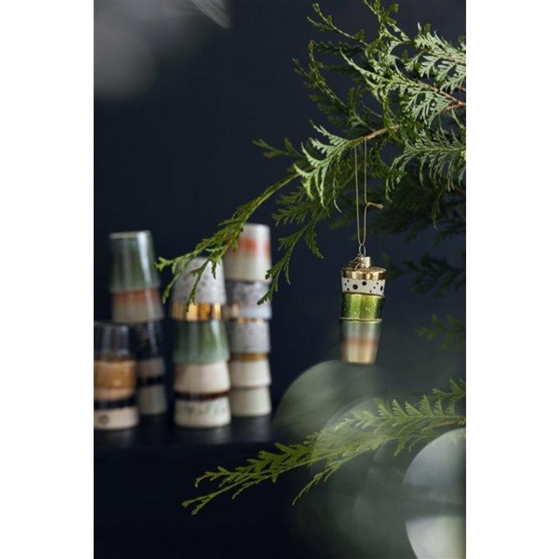 HKliving-collectie Kerstornamenten Vondels for HKliving (set van 3)