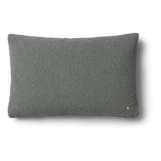 ferm LIVING Kussen Clean wol Boucle grijs