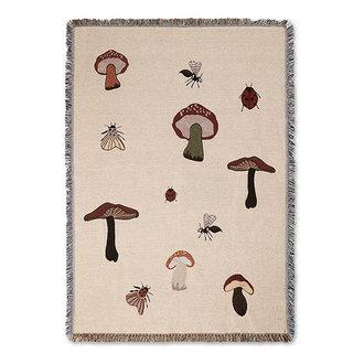 ferm LIVING Forest Tapestry Blanket - Sand