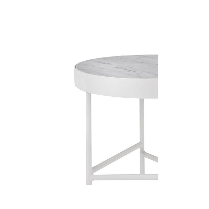 ferm LIVING-collectie Table white marble