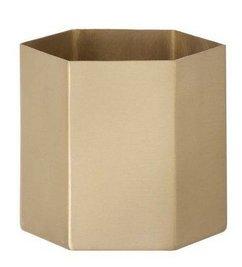 ferm LIVING-collectie Pot Hexagon -L-