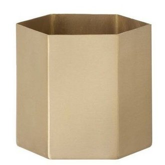 ferm LIVING Pot Hexagon -L-
