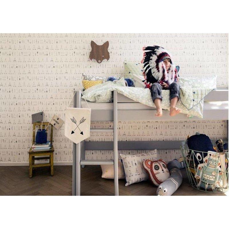 ferm LIVING-collectie Behang Native
