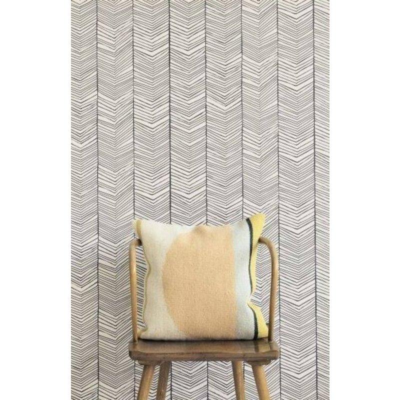 ferm LIVING-collectie Behang Herringbone