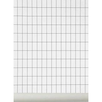 ferm LIVING Behang Grid zwart-wit