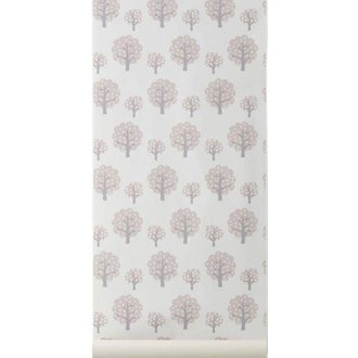 ferm LIVING Dotty rose wallpaper