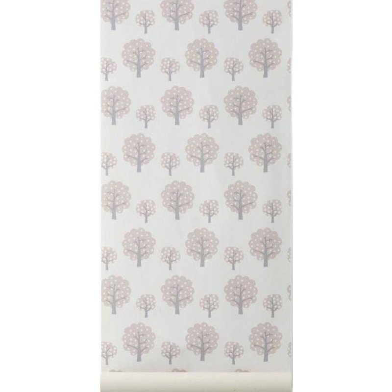 ferm LIVING-collectie Dotty rose wallpaper