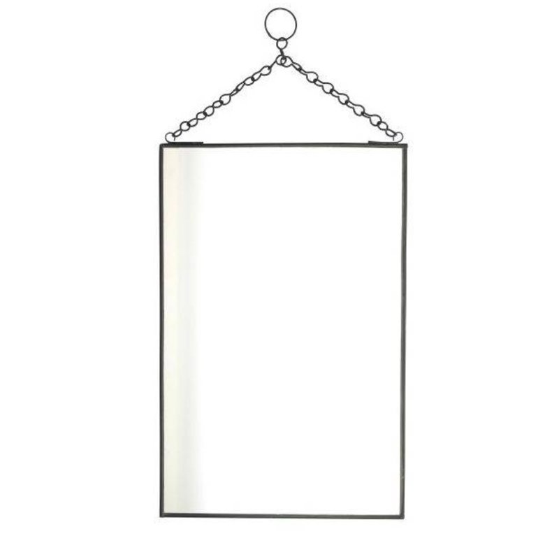 Madam Stoltz-collectie Black mirror L-