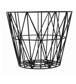 ferm LIVING-collectie Wire basket black