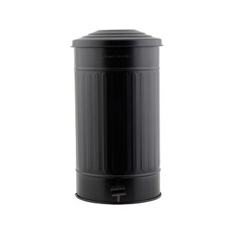 House Doctor Garbage bin, matt black