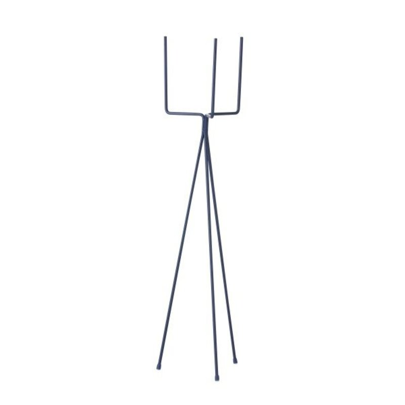 ferm LIVING-collectie Plant Stand - Blue - Large