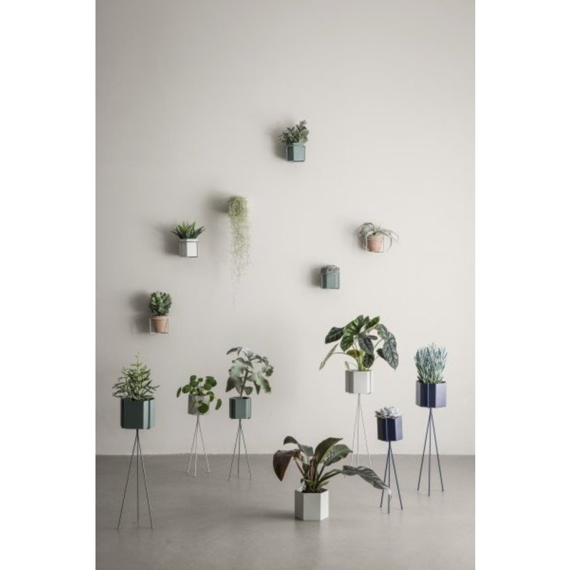 ferm LIVING-collectie Plant Stand - Blue - Small