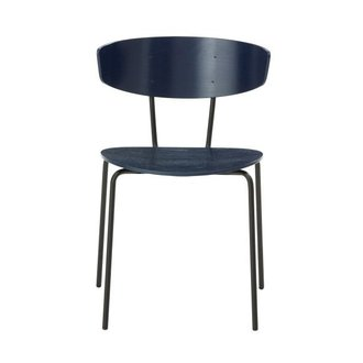 ferm LIVING Herman Chair - Dark Blue