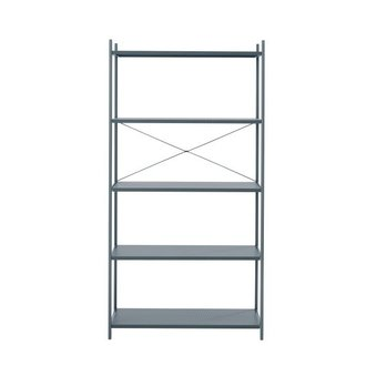 ferm LIVING Punctual Shelving System -Dark Blue-1x5