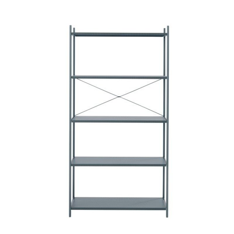 ferm LIVING-collectie ferm LIVING  Punctual kast systeem -donkerblauw-1x5