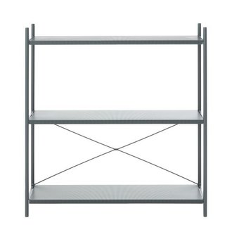 ferm LIVING Punctual Shelving System -Dark Blue-1x3