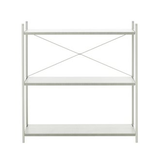ferm LIVING Punctual Shelving System -Grey-1x3