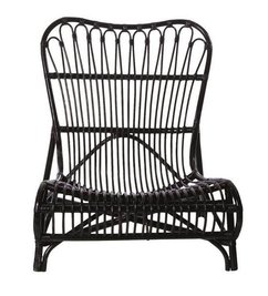 House Doctor-collectie Lounge chair Colone black