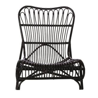 House Doctor Lounge chair Colone black