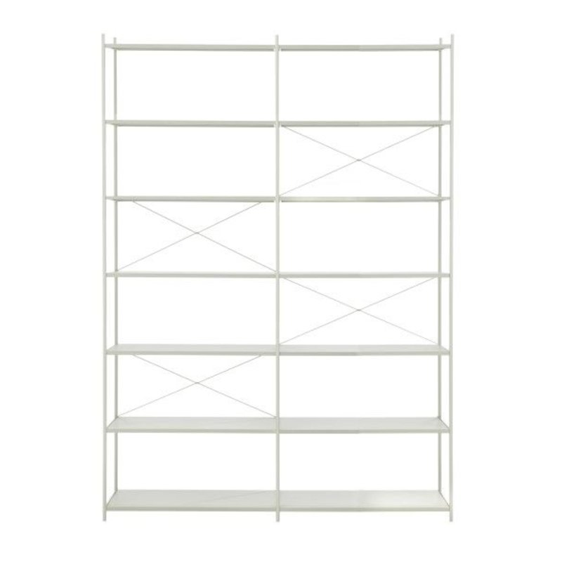 ferm LIVING-collectie Punctual Shelving System -Grey-2x7