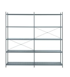 ferm LIVING-collectie Punctual kast systeem -donkerblauw-2x5