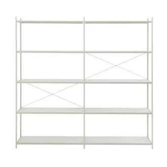 ferm LIVING Punctual Shelving System -Grey-2x5