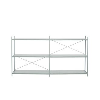 ferm LIVING Punctual Shelving System -Dusty Blue-2x3