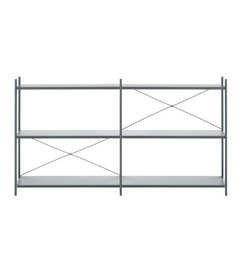 ferm LIVING-collectie Punctual kast systeem -donkerblauw-2x3