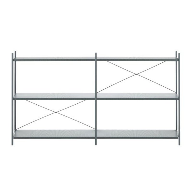ferm LIVING-collectie ferm LIVING Punctual kast systeem -donkerblauw-2x3