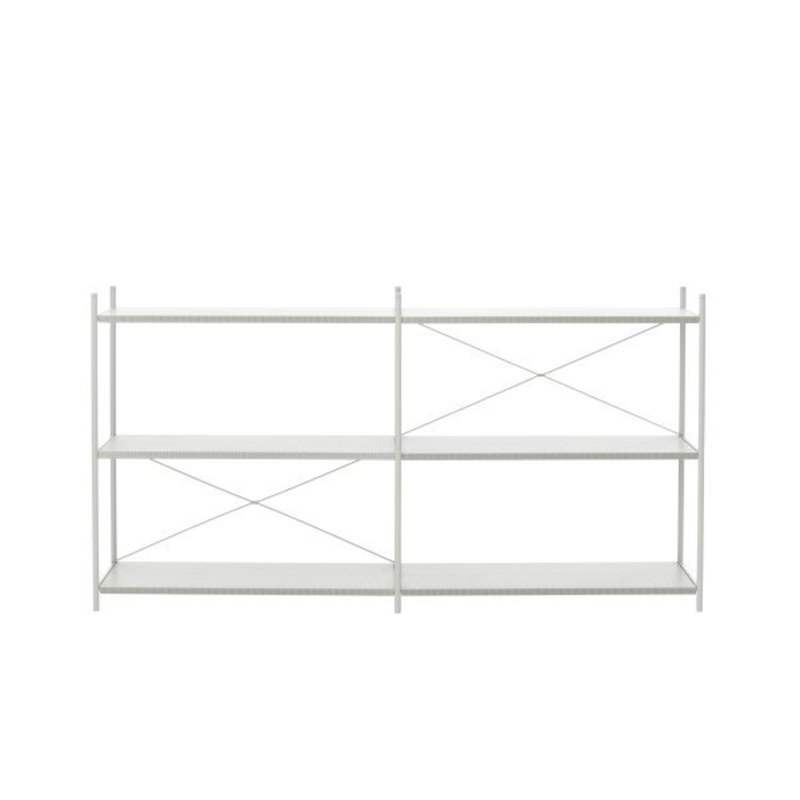 ferm LIVING-collectie Punctual Shelving System -Grey-2x3