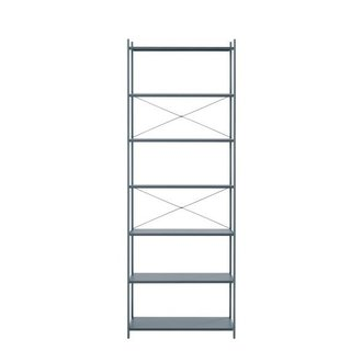 ferm LIVING Punctual Shelving System -Dark Blue-1x7