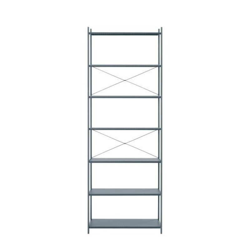 ferm LIVING-collectie Punctual Shelving System -Dark Blue-1x7