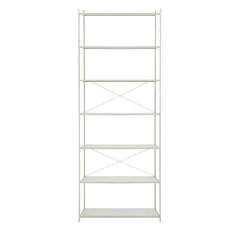 ferm LIVING-collectie Punctual Shelving System -Grey-1x7